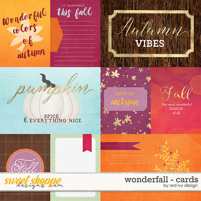Wonderfall - Cards by Red Ivy Design