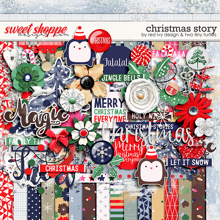 Christmas Story by Red Ivy Design & Two Tiny Turtles