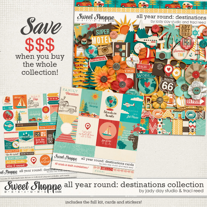 All Year Round: Destinations Collection by Traci Reed and Jady Day Studio