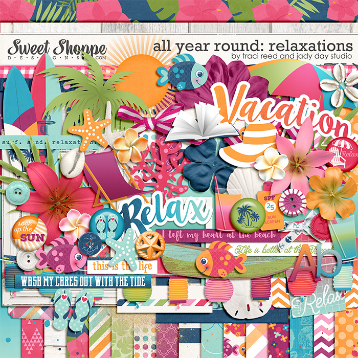 All Year Round: Relaxations by Traci Reed & Jady Day Studio