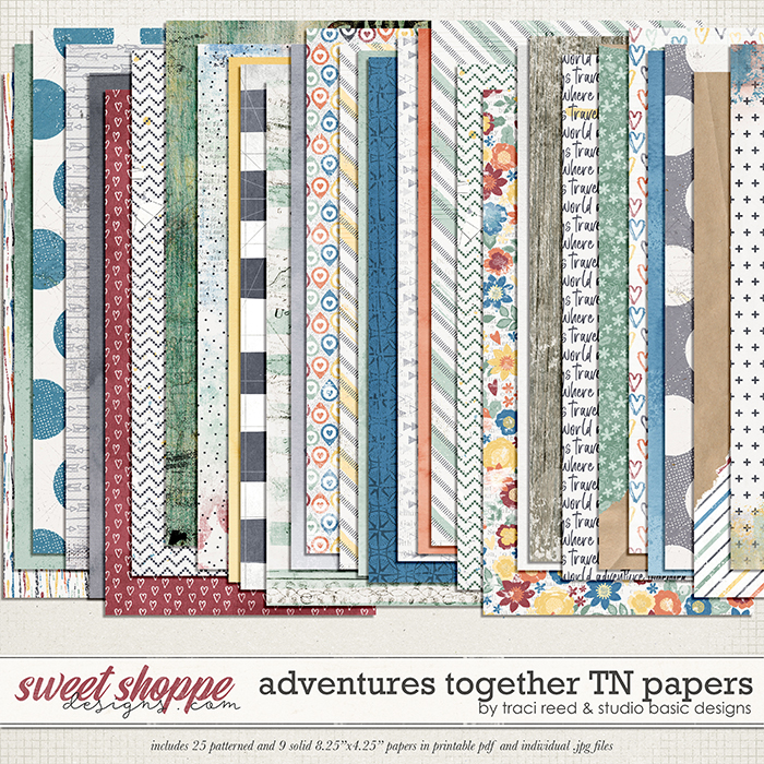 Adventures Together TN Papers by Studio Basic & Traci Reed
