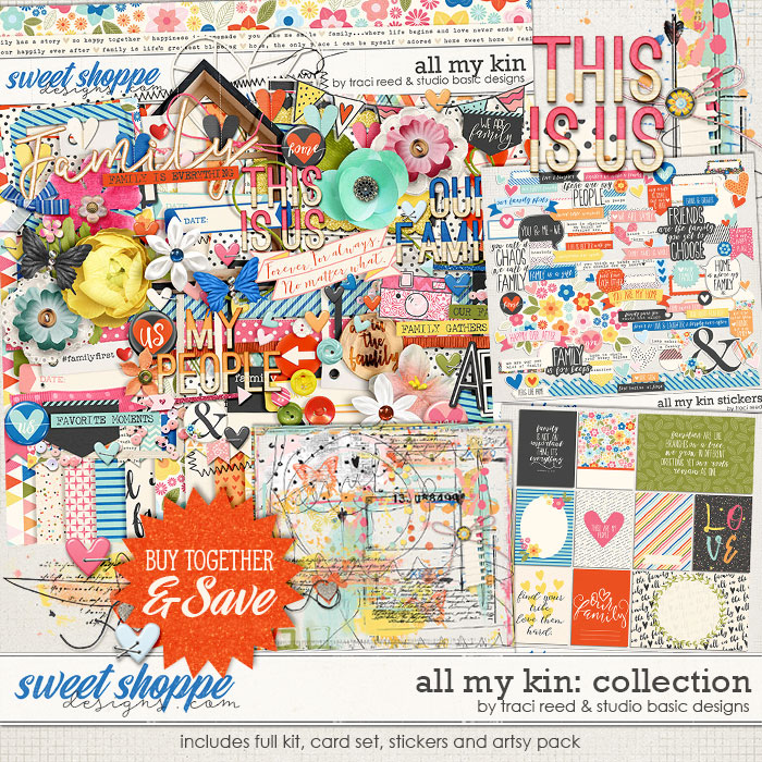 All My Kin Collection by Studio Basic and Traci Reed