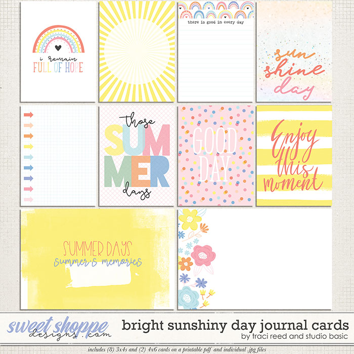 Bright Sunshiny Day Cards by Studio Basic and Traci Reed