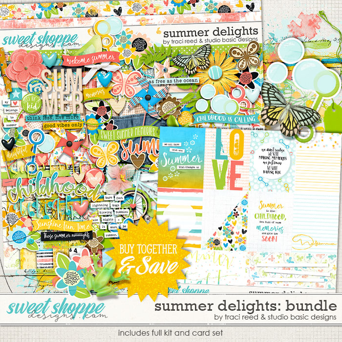 Summer Delights Bundle by Traci Reed and Studio Basic Designs