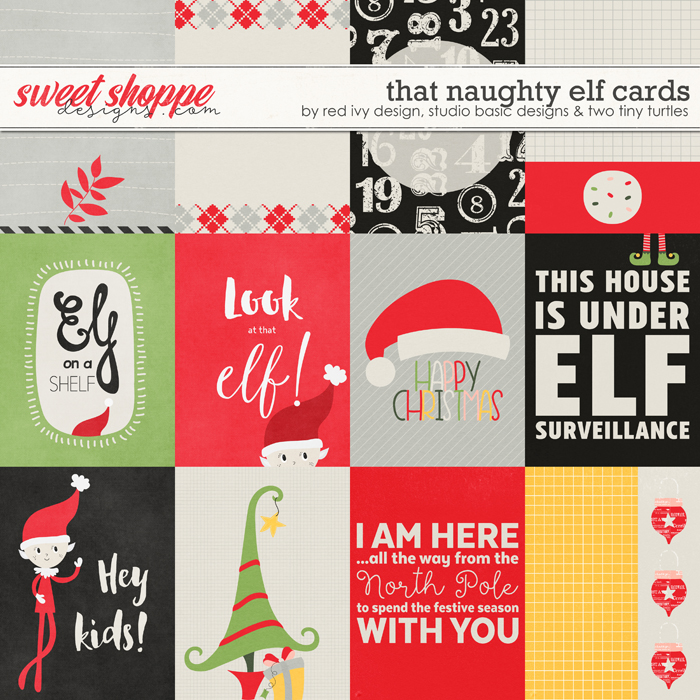 That Naughty Elf - Cards