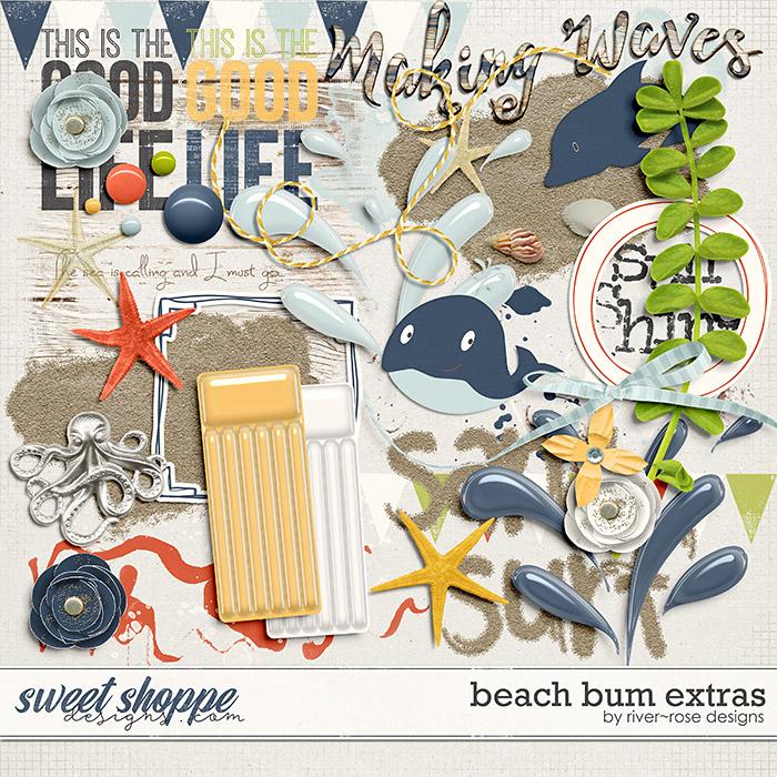Beach Bum Elements by River Rose Designs