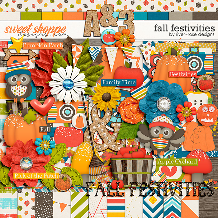 Fall Festivities by River Rose Designs