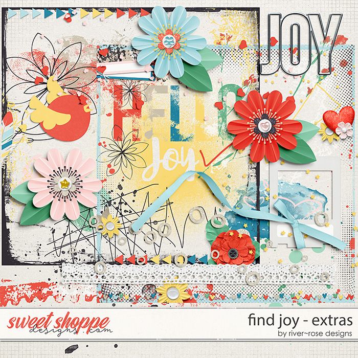 Find Joy Extras by River Rose Designs