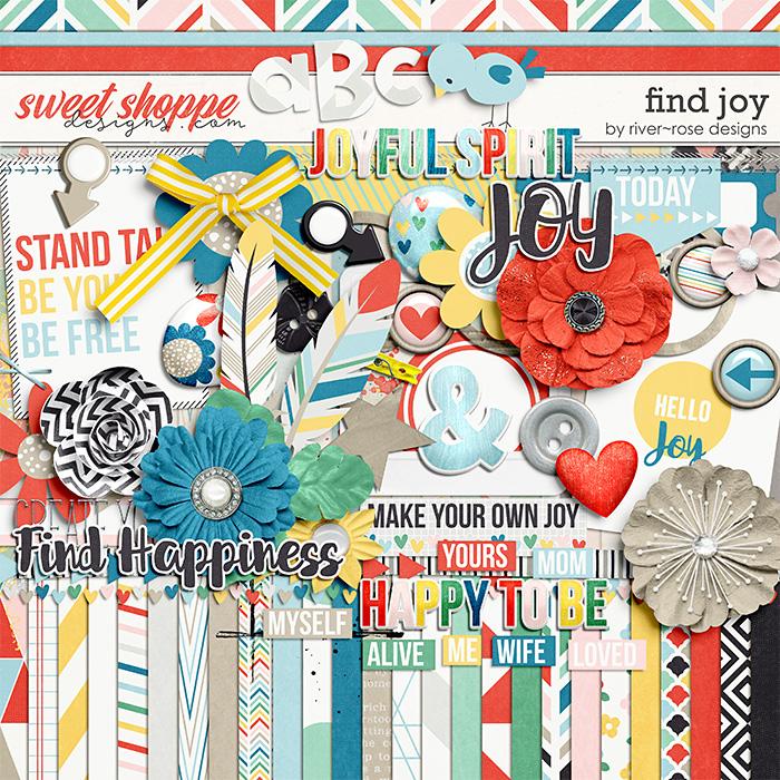 Find Joy by River Rose Designs