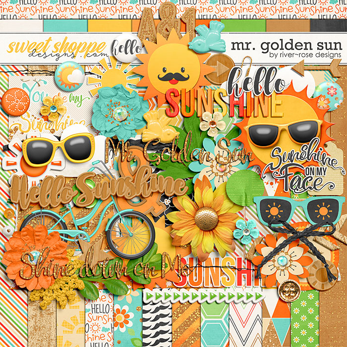 Mr. Golden Sun by River Rose Designs