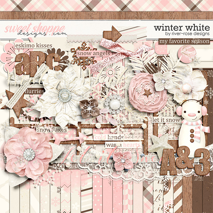 Winter White by River Rose Designs