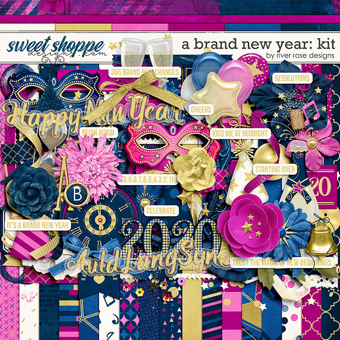 A Brand New Year: Kit by River Rose Designs