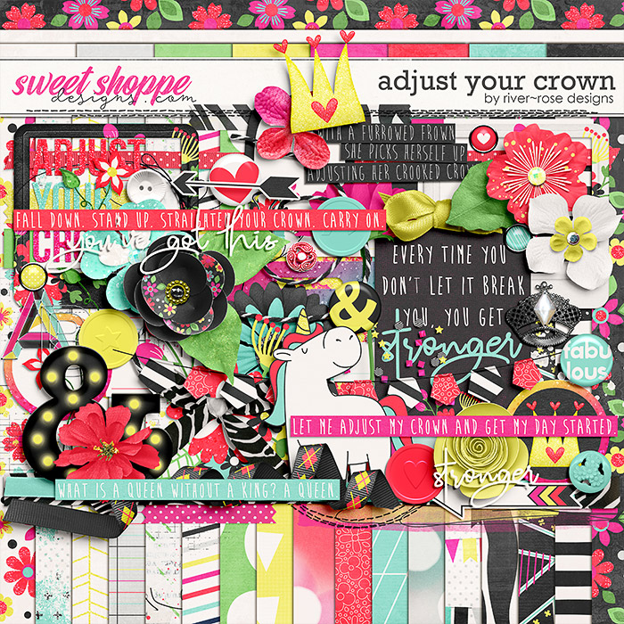 Adjust Your Crown Kit by Rover Rose Deisgns