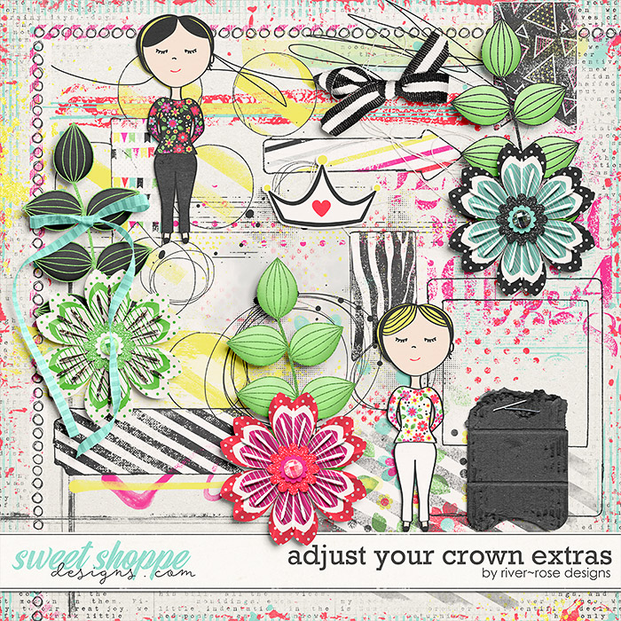Adjust Your Crown Extras by River Rose Designs