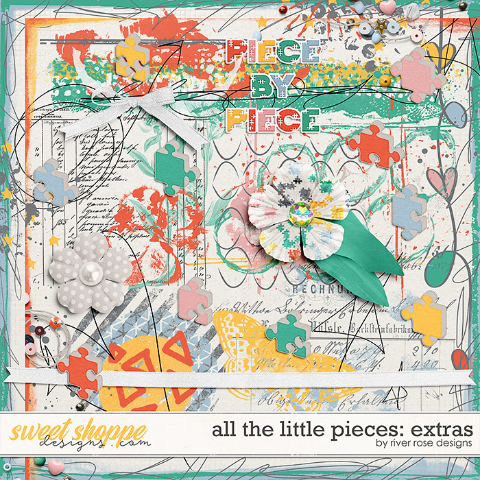 All the Little Pieces: Extras by River Rose Designs