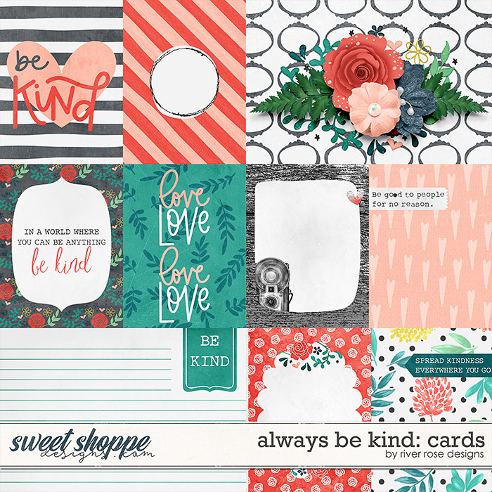 Always Be Kind: Cards by River Rose Designs