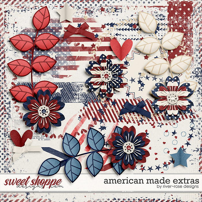 American Made Extra Elements by River Rose Designs