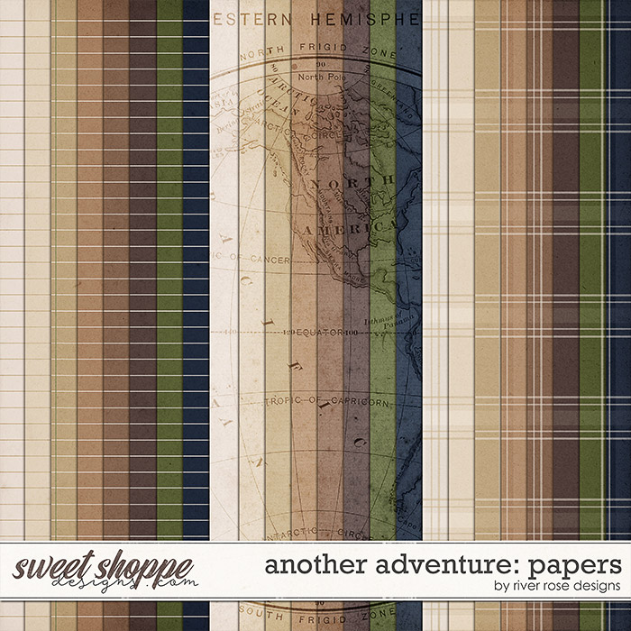 Another Adventure: Papers by River Rose Designs
