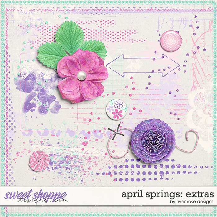 April Springs: Extras by River Rose Designs