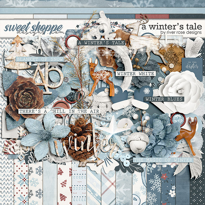 A Winter's Tale: Kit by River Rose Designs
