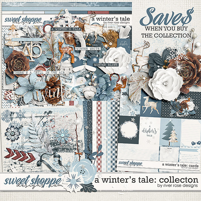 A Winter's Tale: Collection by River Rose Designs