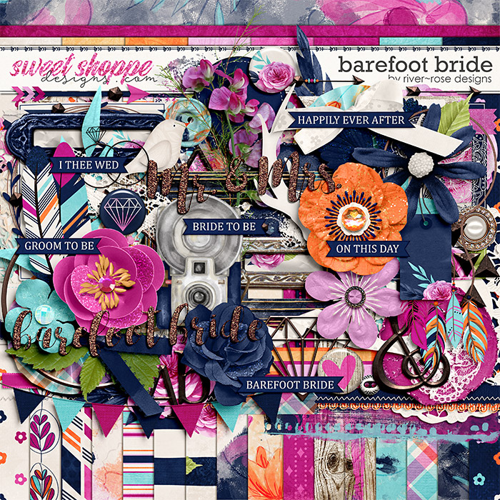 Barefoot Bride Kit by River Rose Designs