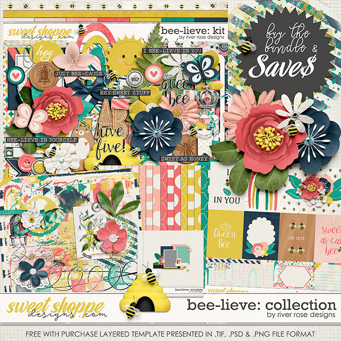 Bee-lieve: Collection + FWP by River Rose Designs