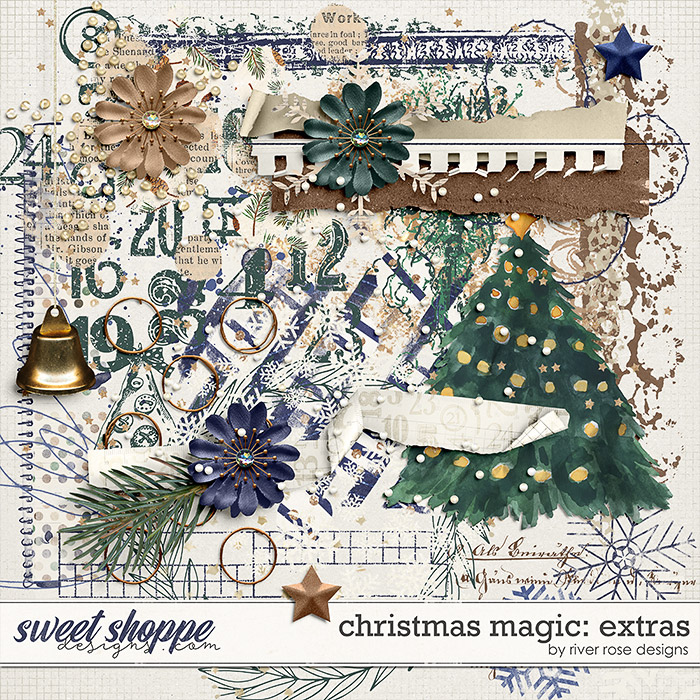 Christmas Magic: Extras by River Rose Designs