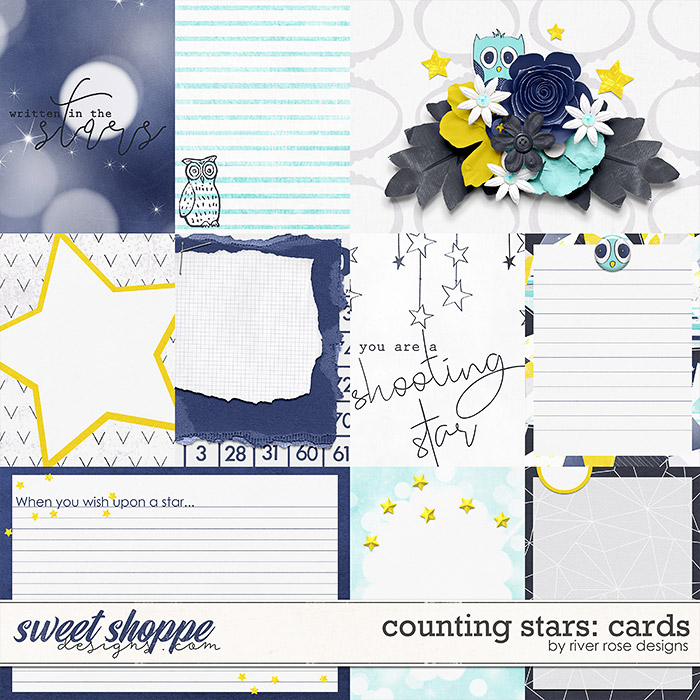 Counting Stars: Cards by River Rose Designs