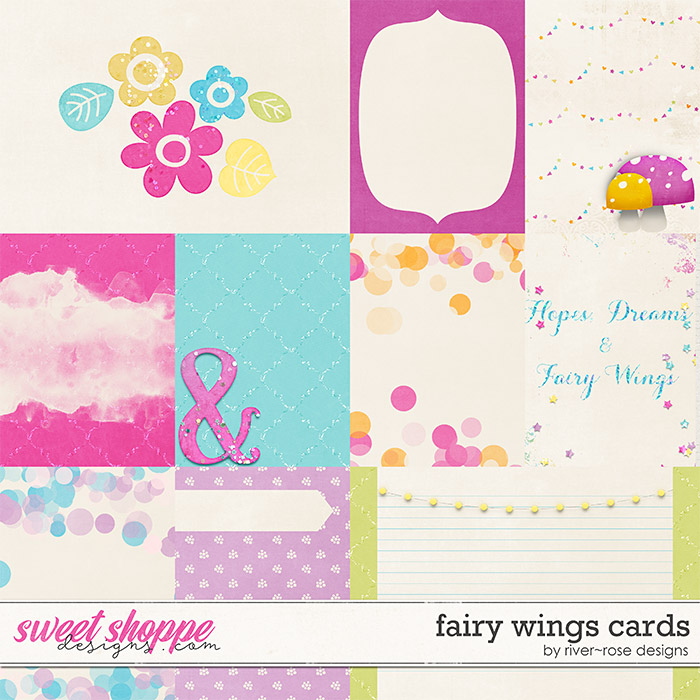 Fairy Wings Cards by River Rose Designs