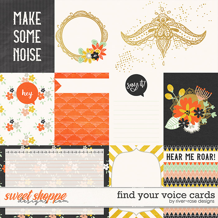 Find You Voice Cards by River Rose Designs