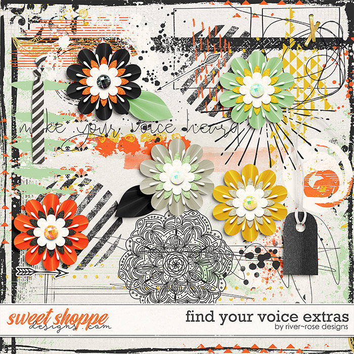 Find Your Voice Extras by River Rose Designs