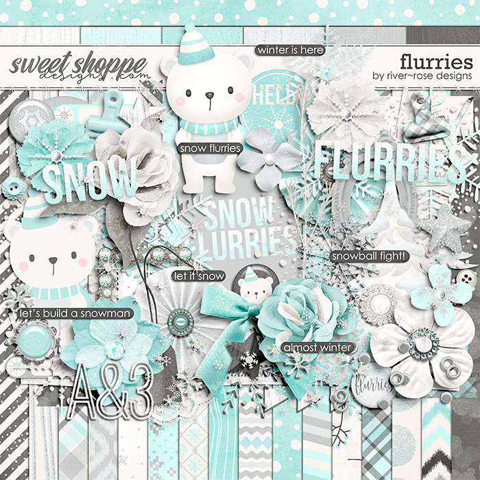 Flurries by River Rose Designs
