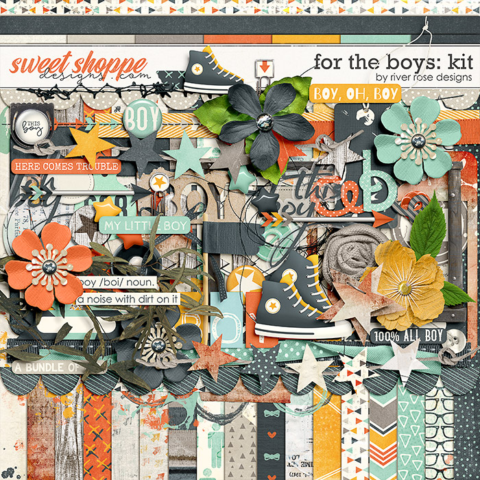 For the Boys: Kit by River Rose Designs
