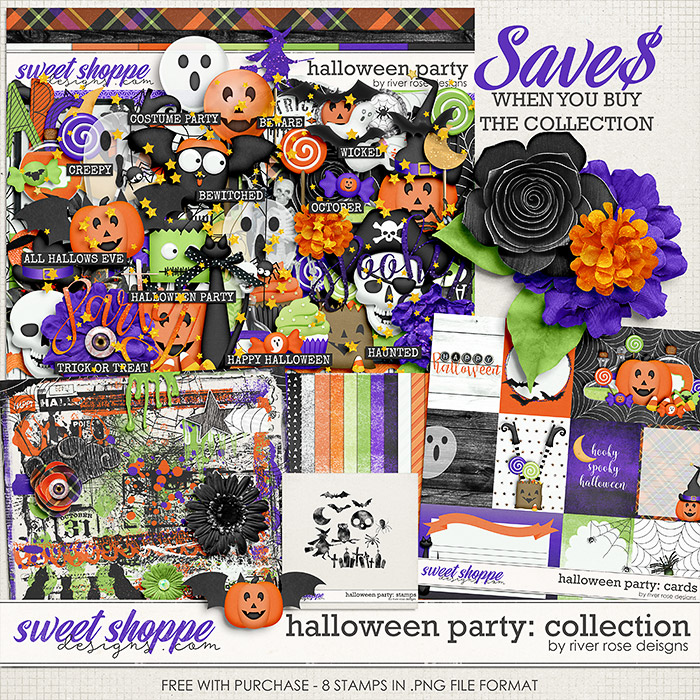 Halloween Party: Collection + FWP by River Rose Designs