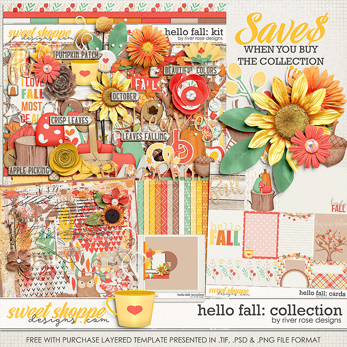 Hello Fall: Collection + FWP by River Rose Designs