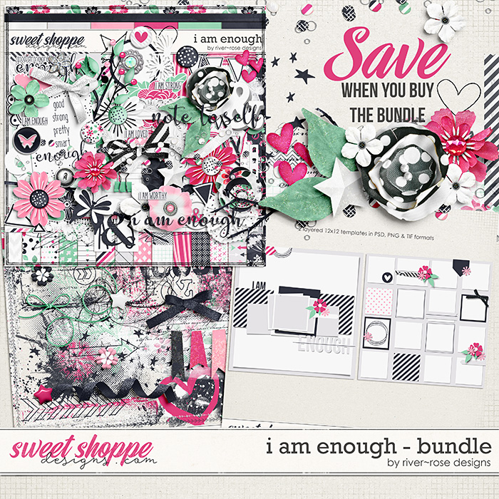 I am Enough Bundle by River Rose Designs