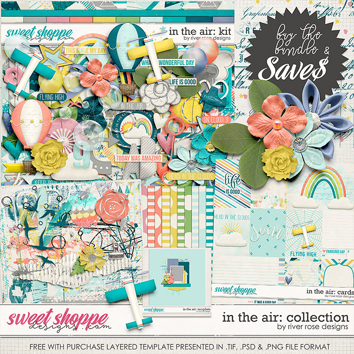 In the Air: Collection + FWP by River Rose Designs