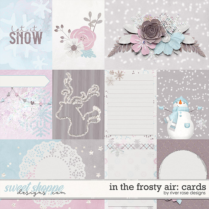 In the Frosty Air Cards by River Rose Designs