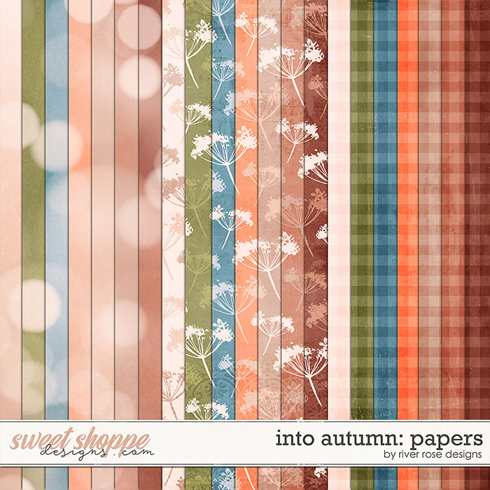 Into Autumn: Papers by River Rose Designs