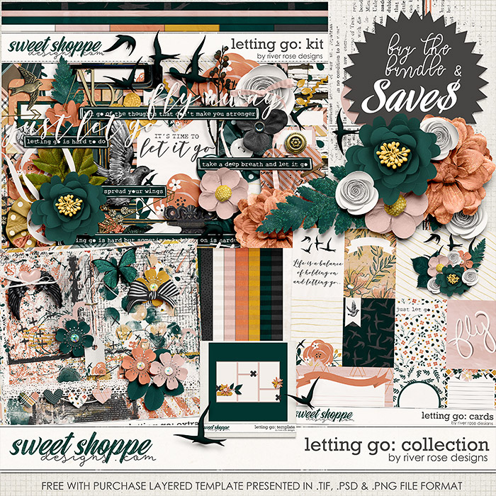 Letting Go: Collection + FWP by River Rose Designs