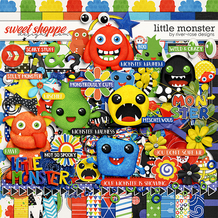 Little Monster by River Rose Designs