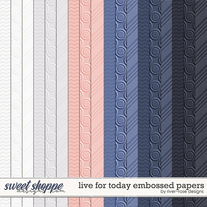 Live for Today: Papers by River Rose Designs