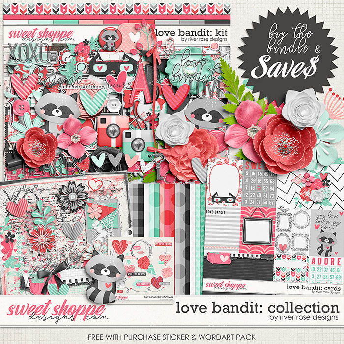 Love Bandit: Collection + FWP by River Rose Designs