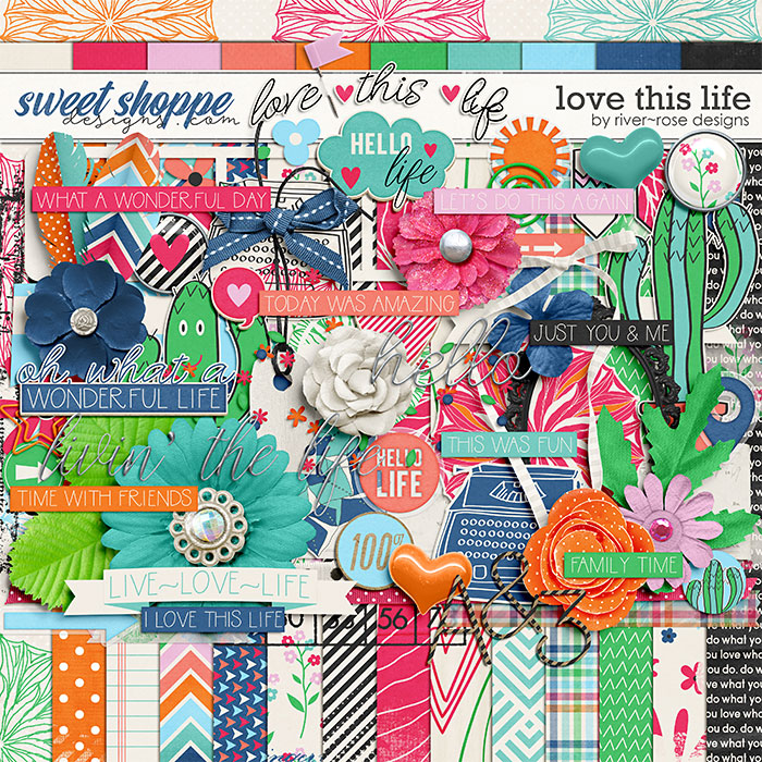 Love This Life by River Rose Designs