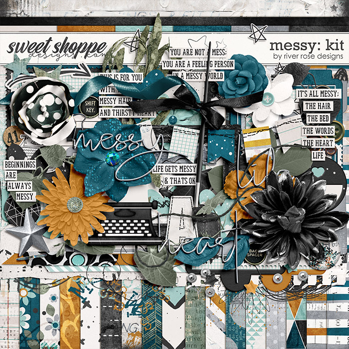 Messy: Kit by River Rose Designs