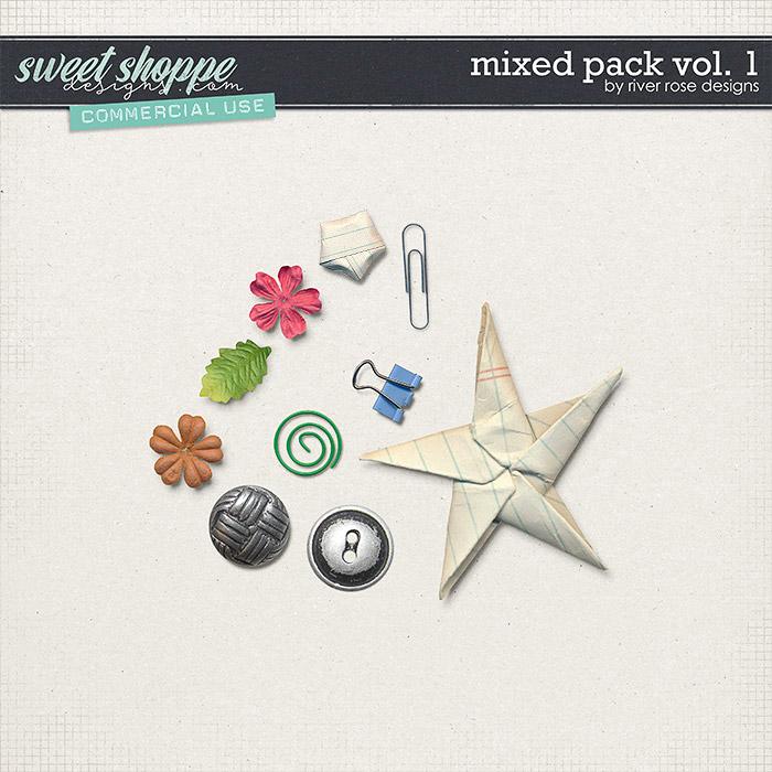 CU Mixed Pack Vol. 1 by River Rose Designs