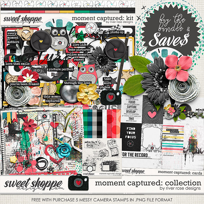 Moment Captured: Collection + FWP by River Rose Designs