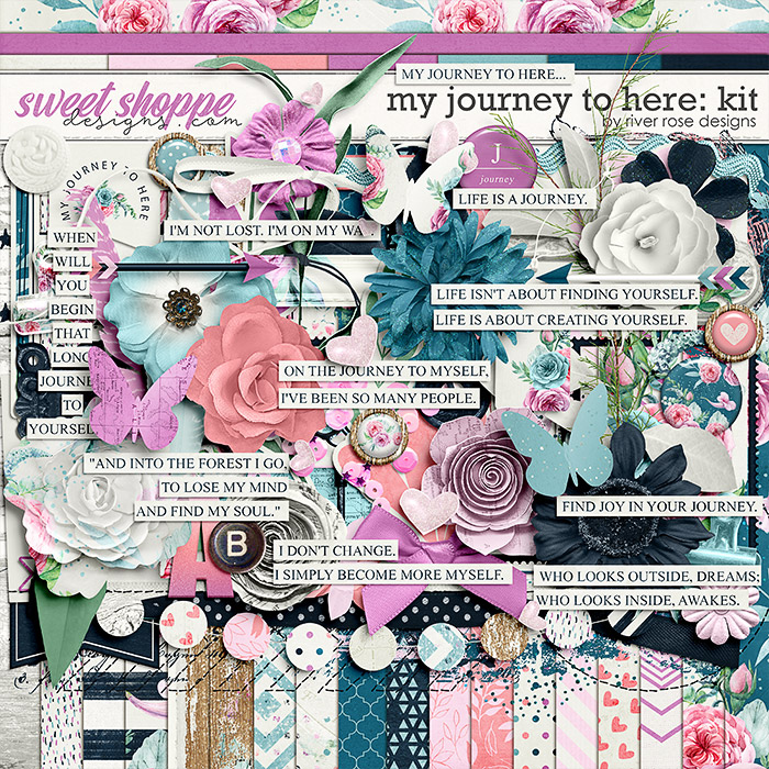 My Journey to Here: Kit by River Rose Designs