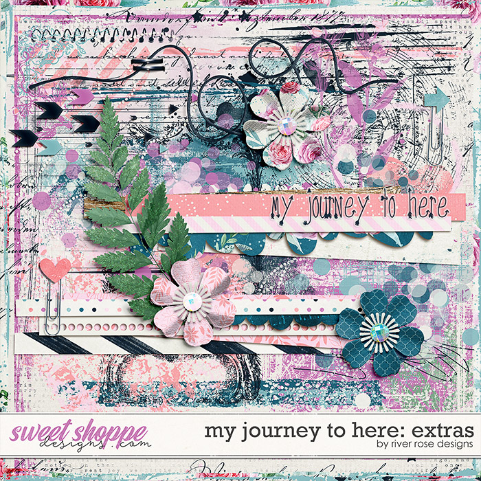 My Journey to Here: Extras by River Rose Designs